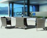 Sofà domestico di vimini di svago del salotto dell'ufficio dell'hotel di Sydney del patio esterno di alluminio del rattan (J648)