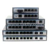 8+1 порт RJ45 1 переключатель Poe сети локальных сетей SFP Port