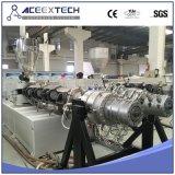 Machine van de Pijp van pvc de Dubbele met PLC Controlemechanisme