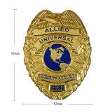 معدن يسم شارة مع زبونة علامة تجاريّة لأنّ شرطة إستعمال