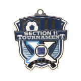 Medaglia antica personalizzata del premio del metallo di sport del pezzo fuso 3D per la promozione del ricordo