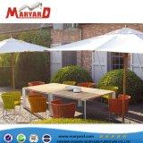 밧줄 정원 가구 목제 테이블 및 세트를 식사하는 최상 의자 옥외 안뜰