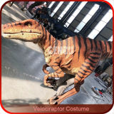 Het mechanische Kostuum van de Dinosaurus van het Kostuum van de Dinosaurus Levensgrote