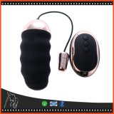 10 jouets adultes vibrants rechargeables de sexe de remboursement in fine d'oeufs de la vitesse USB de vibrateur d'oeufs à télécommande sans fil d'amour
