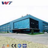 Pré-fabricados em PVC Alumínio exterior à prova de Estrutura de aço do Prédio de Depósito