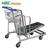 Supermarché Chariot cargo de l'entrepôt de plate-forme de métal
