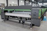 3.2m Sinocolor Ruv3204 Ricoh 인쇄 헤드 UV 인쇄 기계 기치 인쇄 기계 천장 큰 체재 UV 인쇄 기계