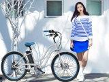 """E-Bicicleta de alumínio do banco do frame de 26 """" senhoras com aprovaçã0 do Ce para a venda"""