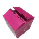 Personalizar configuração fácil das embalagens de papel cartão caixa de papelão