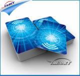 125kHz Proximidade RFID Smart Card / Faixa magnética NFC Hotel Key Card / Cartão IC de Contato de PVC