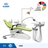 Unidad dental de cuero sintetizada de la silla con los E.E.U.U. estándar