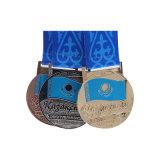 専門のブランドの供給の中国の旧式な金属の習慣はメダルを遊ばす