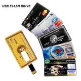 Un precio más barato de la fábrica de China del mecanismo impulsor del pulgar del USB 4GB de la tarjeta