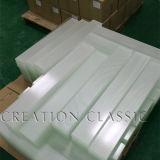 3-19mm templado de seguridad clara y cristal templado con canto pulido