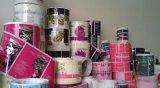 Escrituras de la etiqueta impermeables de la impresión en color, etiquetas engomadas diarias de los productos químicos