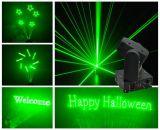Licht van de Laser van de Animatie van de disco het Groene be*wegen-Hoofd voor de Partij van Kerstmis
