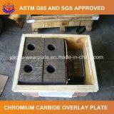 Alta placa del desgaste del cromo para el acero de la explotación minera