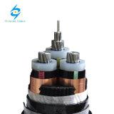 Aussondern oder drei Kern-XLPE mittlere Spannungs-gepanzertes Energien-Isolierkabel