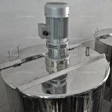 Het Verwarmen van het roestvrij staal Dubbele Beklede het Mengen zich Tank