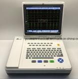 """12.1 """" macchine dell'elettrocardiografo della Manica ECG dello schermo di tocco dell'affissione a cristalli liquidi 12 (EM1200)"""