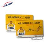 Alta Qualidade preço baixo Cr80 contato em branco Regravável Cartão Inteligente de plástico com les Chip5542
