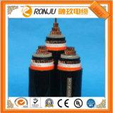 Номинальное напряжение XLPE 450/750V изолированных медных проводника ПВХ оболочку из экранированного экранированный гибкий кабель питания системы управления