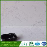 Le marbre veine la pierre blanche artificielle de quartz