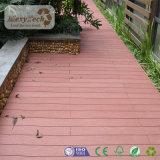 Decking imperméable à l'eau en bois composé de piscine de paquet de WPC pour le plancher en bois