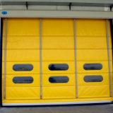 Сложите вверх электрический High Speed штабелируя штарку Door/PVC штабелируя дверь для промышленного