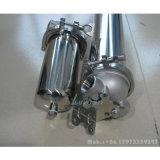 10 20 30 40 pollici Polished custodia di filtro della cartuccia dell'acqua dell'acciaio inossidabile dai 10 micron con il giunto circolare di PTFE