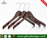 Les adultes chiffon en bois Hanger, crochet de suspension du vêtement pour le commerce de gros