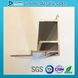 カスタマイズされたサイズカラーの北アフリカアルミニウムWindowsのドアのプロフィール