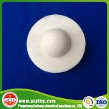 端が付いているプラスチック液体の表面のカバーの球