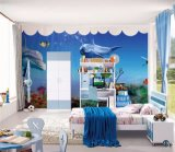 디지털 Printing 또는 Eco Solvent 또는 Latex/UV /Printable /3D/Inkjet Wall Paper FOR KIDS 룸, CARTOON STYLE WALL PAPER