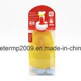 11oz bewegliches wasserundurchlässiges BPA geben Silikon-Arbeitsweg-Wasser-Flasche frei (hn-s001)