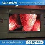 3528 SMD para interiores de alto brillo LED fijo (P3.91) para publicidad