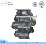 Hohe spiralige Zerkleinerungsmaschine Mangan-Stahl-KOMATSU-PC4000 zerteilt Spur-Schuh