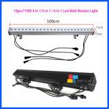 Étape DMX 512 Pixel 18PCS*10W éclaireur de sol Mural LED