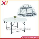 Table en plastique de pliage pour banquet/mariage/Restaurant/hôtel/plage/piscine