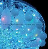 Lampade di vetro del soffitto nel disegno moderno