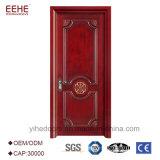 Fantasía exterior puerta de madera con muebles antiguos Diseño de puertas de madera