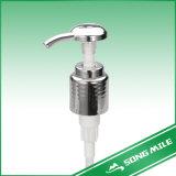 Freie Proben machen flüssige Seifen-Zufuhr-Lotion-Plastikpumpe 24/410 glatt