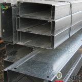 Гальванизированный Purlin крыши металла рамки раздела c для стальной мастерской