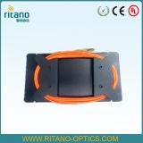 중국 플라스틱 상자 황색 OTDR 발사 케이블 상자