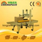 Halb automatischer Klebstreifen-Karton-Kasten-verpackenfaltende Dichtungs-Abdichtmassen-Verpackungsmaschine