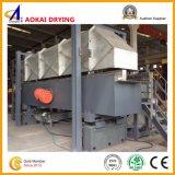 Secadora no estándar de la base flúida para los granos con la amortiguación de aire con resorte