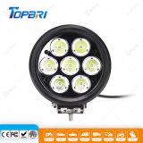 70W haz puntual de Servicio Pesado CREE LED lámpara de trabajo del tractor