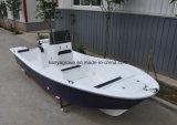 Barcos da fibra de vidro de Liya com fibra de vidro do barco de motor externo 19feet
