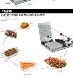 Máquina do Skewer de Satay da carne para o BBQ