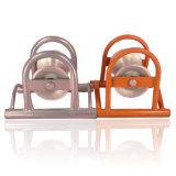 Rodillo de soporte del cable de una sola rueda
